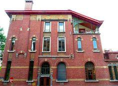 Art Nouveau - La Maison Dorée - Charleroi - Alfred Frère et Gabriel van Dievoet - 1899