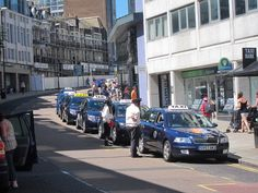 Taxi rank on Havelock Road