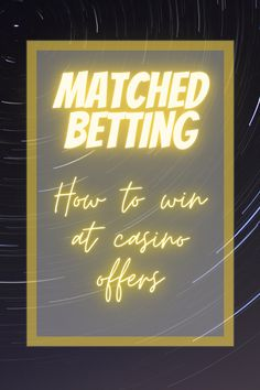 How matched bettors win at casino offers. How to spot good offers. How to calculate if you should do an offer. Oddsmonkey matched betting. Casino Reviews, Casino Sites, Online Gambling, Online Casino, Wizard Of Odds, Cash First, Matched Betting, Casino Promotion, Online Match