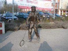 """Gorzów Wlkp., my city, Poland. """"Szymon Gięty"""" (in the picture)"""