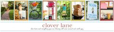 Clover Lane: Mothering.  Fantastic thoughts and lessons about momming.  I can't get enough of this lady.