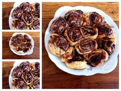 Pastry with chocolate