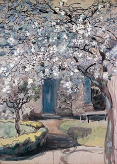 Maria Yakunchikova (Russia 1870-1902) Blossom Tree (1899)