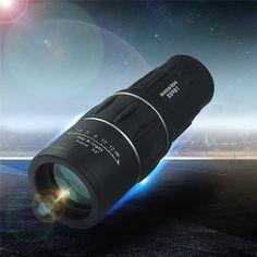 新加入16 × 52デュアルフォーカスズーム光レンズ日ナイトビジョン外装旅行単眼望遠鏡観光スコープ双眼鏡