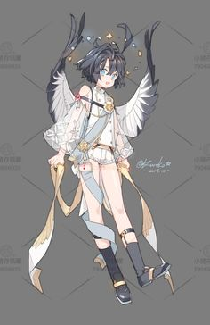 Fantasy Character Design, Character Design Inspiration, Cute Anime Character, Character Art, Pretty Art, Cute Art, Persona Anime, Character Design References, Manga Drawing