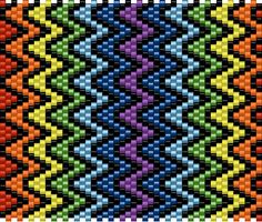 I made this design myself its in pdf format you may have to have adobe ********NOTE: this is made with MIYUKI SEED BEADS******************** This Plastic Canvas, Seed Beads, Stitches, Adobe, Beading, Canvas Art, Pdf, Notes, Rainbow