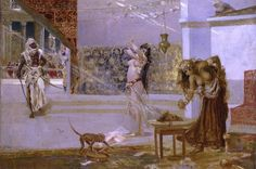 Salvatore Postiglione (1861-1906) - La danse de Salomé