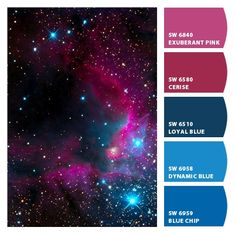 Instantly turn any picture into a palette with ColorSnap, created for you by Sherwin-Williams. Color Schemes Colour Palettes, Colour Pallette, Color Palate, Color Combinations, Couleur Html, Galaxy Colors, Colour Board, Color Swatches, Vintage Design