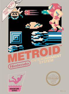 Metroid Classic 1985