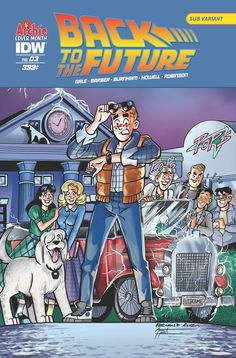Back to the Future (2015) Issue #3