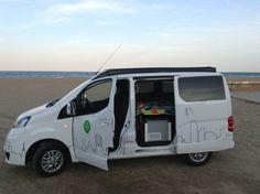Mobile Architecture, Recreational Vehicles, Mini, Nissan, Camper, Ideas, Caravan, Travel Trailers, Motorhome