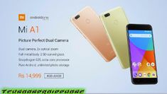 Xiaomi launched its first Android-One handset i.e Xiaomi Mi It was announced quite early with respect to its availability. The handset was announced Photo And Video Editor, Android One, Photo Storage, Curved Glass, New Mobile, Dual Sim, Usb Flash Drive, Smartphone, Oreo