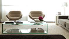 60cm de espaço entre os móveis e a mesa de centro