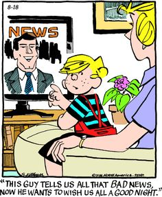 "Hank Ketcham's classic ""Dennis the Menace"" chronicles the pranks of the…                                                                                                                                                                                 More"