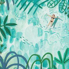 Adventurous Soul Illustrates The Wild Beauty Found Around the World : Travel illustration by Miranda Sofroniou Art Inspo, Kunst Inspo, Inspiration Art, Art And Illustration, Guache, Illustrators On Instagram, Grafik Design, Art Design, Art Plastique