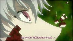 Akise Aru's love for Amano Yukiteru is real (Mirai Nikki)
