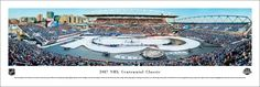 2017 NHL Centennial Classic Panoramic Picture - Toronto Maple Leafs vs. Detroit Red Wings - Unframed