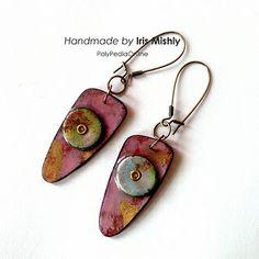 INKredible Polymer Clay Earrings   Flickr - Photo Sharing!