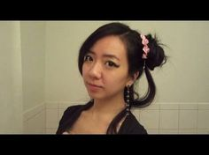 Ancient Chinese Hairstyle tutorial youtube video http://www.youtube.com/watch?v=8NzlLRt32dc