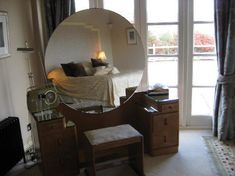 Burgh Island Hotel:bedroom