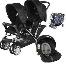 Twin #strollers with two car seats- does make everyday life that bit less complicated http://www.williammurchison.com/
