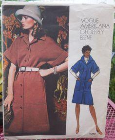 Vogue 1099  Americana Designer Geoffrey Beene by Clutterina