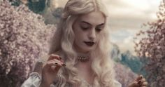 Alice in Wonderland Alice In Wonderland Aesthetic, Adventures In Wonderland, White Queen Costume, Alice Madness Returns, Johnny Depp Movies, Movie Shots, Disney Aesthetic, White Witch, I Love Girls