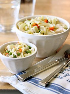 Jenny Steffens Hobick: Mini Me Homemade Chicken Noodle Soup