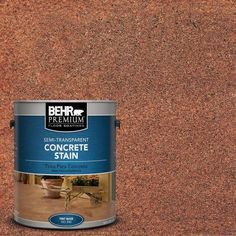 painting concrete