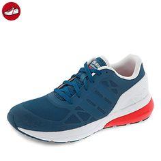 adidas Cloudfoam Flow, Baskets Basses Homme, Bleu (Azucen/Azucen/Rojbri), 40 2/3 EU