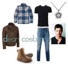 """Dean costume"" by smsswimmer on Polyvore featuring Levi's, Patagonia, men's fashion and menswear"
