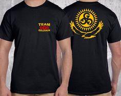 NEW Team GGG Golovkin boxing Gennady Golovkin Black 2 Side T-Shirt S-2XL #GildanorOther #GraphicTee