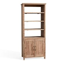 The Parker Bookcase Is Crafted With Reclaimed Wood