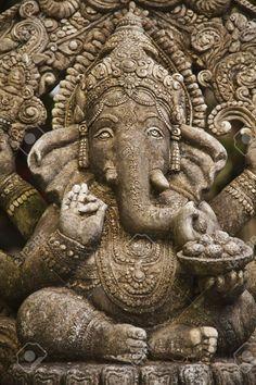 God ganesh statue of hindo in Bangkok Thailand temple