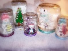 Sparkling Snow Globe FREE Winter Tutorial From Vintage Mama's Cottage