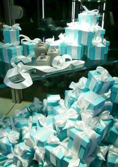 Tiffany & Co gift boxes
