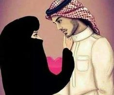 Uploaded by Muslim Girl. Find images and videos about love, cute and couple on We Heart It - the app to get lost in what you love. Couple Cartoon Pictures, Cute Couple Cartoon, Cute Couple Art, Cute Couple Quotes, Anime Love Couple, Cute Muslim Couples, Muslim Girls, Cute Couples, Muslim Couple Photography