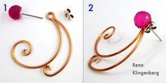 Spiral Wire Earring Jackets (Tutorial) — Jewelry Making Journal