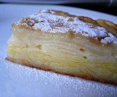 Unsichtbarer Kuchen Apfel und Birne - Superkuchen - Fruchtgratin