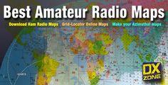 ham radio maps