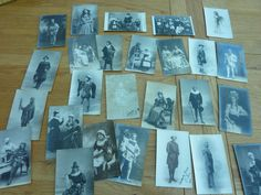 RARE COLLECTION EDWARDIAN CLASSICAL ACTORS PHOTO POSTCARDS X 27 INC 12 AUTOGRAPH in Collectables, Theatre/ Opera/ Ballet, Other Theatre | eBay