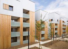 Colboc Franzen's Parisian social housing matches scale of neighbours