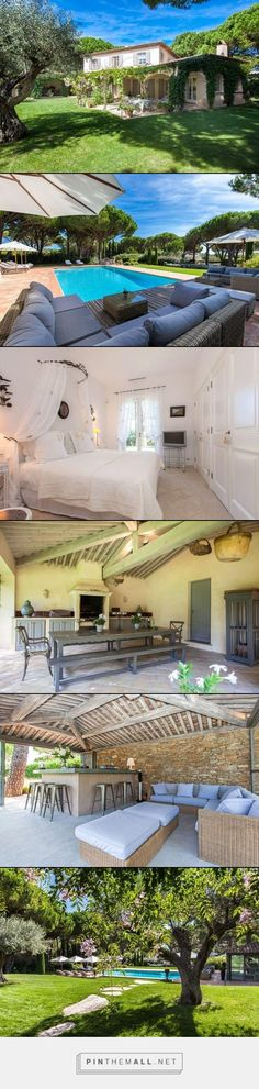 Villa Casa Mat- St. Tropez, France- WIMCO Villas- 5 bed 5 baths #travel #sttropez #france #europe #villas