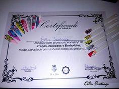 Diário Feminino: Certificado de Formação   Workshop de Traços Finos...