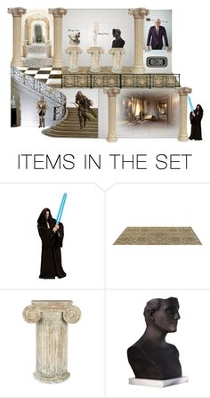 """Knight At The Museum"" by funkyjunkygypsy ❤ liked on Polyvore featuring art"