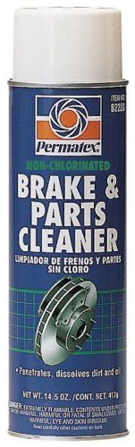 Permatex 82220-12PK Non-Chlorinated Brake and Parts Cleaner, 20 oz. Aerosol Can (Pack of 12)