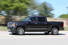 Full instrumented test of Chevy's Silverado 1500 full-size pickup with the and automatic. Gmc Sierra Denali, 2014 Gmc Sierra, Sport Truck, Sport Cars, Cool Pictures, Cool Photos, 2015 Chevrolet Silverado 1500, Black Truck, Gmc Terrain