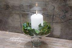 Dušičky: dušičkové věnce   Dušičková dekorace   Kreativní Techniky Pillar Candles, Candle Holders, Porta Velas, Candles, Candlesticks, Candle Stand