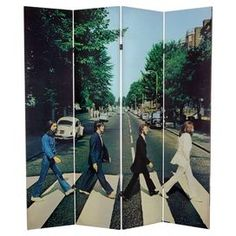 Abbey Road Room Divider