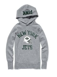 7bed9a3bf832 Gray new York jets sweatshirt size large. Is not oversized. Second one I ve  bought. I have a love hate relationship with this sweatshirt.